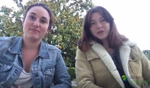 Emma Valentie et Clémentine Duvigneau, étudiantes à Bordeaux Sciences Agro