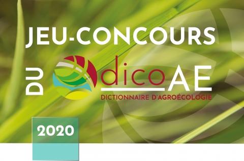 Jeu Concours Dico Ae Resultats De La Premiere Etape En Ligne Agreenium