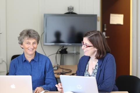 Sylvie Vareille (à gauche), inspecteur en chef de santé publique vétérinaire, succède à Marie-Aude Stofer, comme chargée de coopération formation vétérinaire à Agreenium